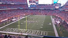 2 Tickets Cleveland Browns New York Jets Sec 348 Row 12 Aisle Seats 10/30