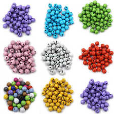Acrylic Crackle Cracked Loose Spacer Round Craft Beads 6mmx100 8mmx50 10mmx50