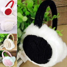 Women Winter Kint Earmuffs Earwarmers Ear Muffs Earlap Warmer Headband Stunning