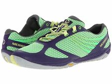 New Women's Merrell Pace Glove 3 Sneaker Athletic Shoes 10.5 Purple/Green