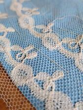 Lovely Unused Antique Victorian Honiton Bobbin Lace Collar