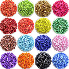 YH 1200pcs Lots 2mm Glass Beads Seed Pearls Round Spacer For Jewelry Making DIY