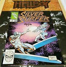 Silver Surfer 14 2nd Series Marvel 1988 RARE SIGNED BY MIGNOLA HIGH GRADE NM