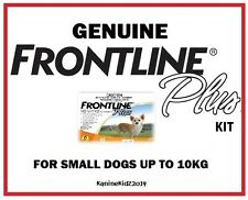 FRONTLINE PLUS FLEA AND TICK TREATMENT KIT FOR DOGS 0-10KGS 6 MONTHS' SUPPLY