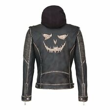 New Halloween Replica Suicide Squad: 'The Killing Jacket' Joker Leather Jacket