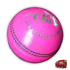 New Red Leather Cricket Balls Test Match Quality Best Knocking Ball For Practice