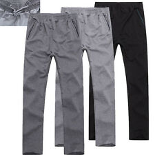 Mens Sports Long Casual Activewear Skinny Gym Jogging Pants Trousers 7/8/9XL