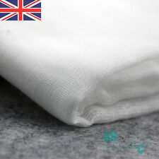 5Yards White Gauze Cheese Kitchen Cloth Fabric Bleached Butter Muslin Width 36''