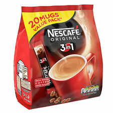 Nescafe Original 3 in 1 Sachets 20 Mugs Value Pack