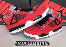 Nike Air Jordan 4 Retro Toro Bravo Fire Red White Black Size 8-13 308497-603 DS
