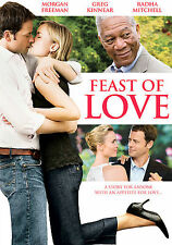 Feast of Love DVD, Greg Kinnear, Radha Mitchell, Morgan Freeman, Erika Marozsán,