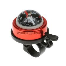 Bicycle Safety Bicycle Bike Ring Alarm Bell Compass Alloy Plasitc Horn Bell