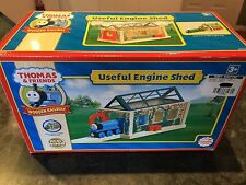 Thomas The Tank Engine Wooden Train Useful Engine Shed - Brand New