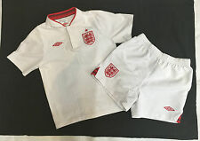 Boys Umbro Age 6-7 Years White Red Liverpool Kit