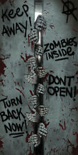Zombie Door Cover Haunted House Scary Spooky Halloween Decor Decoration Prop New
