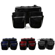 Cycling Bicycle Bike Top Frame Front Pannier Saddle Tube Bag with Dust Cover