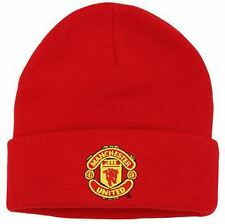 Official Manchester United Adult Beanie Football Merchandise