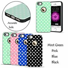 Soft TPU Rubber Polka-dot Protective Case Cover Skin for iPhone 6 Plus/6SPlus