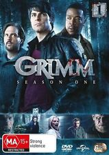 Grimm : Season 1 (DVD, 2013, 6-Disc Set)**R4**Excellent Condition **