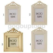 European Style Wooden Standing Picture Photo Frame for Home Decorative Decor