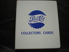 Pepsi Collector Cards, sets 1, 2,&  Premium, Pepsi Binder, POGs, Subset Cards