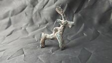 Great Ancient Luristan / Persia Bronze Votive Ram / Antilope Pendant Figure