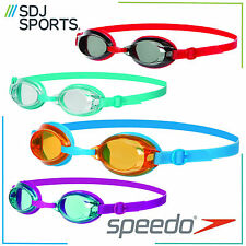 SPEEDO JET JUNIOR V2 SWIMMING GOGGLES AGE 6-14 YEARS WITH UV PROTECTION ANTI-FOG