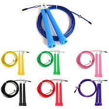 Steel Wire /Gym/Jumping/Speed/Exercise/Fitness Jump Gym Skipping Rope New DI