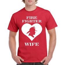 T Shirt Firefighter Wife I Funny S Smoking Tee Love Hot Humor EMS Husband Rescue