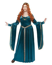 Guinevere Womens Medieval Renaissance Game of Thrones Long Dress Costume Plus