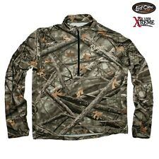 NEW RANGER BOATS LOST CAMO 1/4 ZIP XTREME PERFORMANCE DRI WICKING JACKET