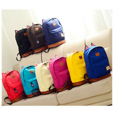 Fashion Girl Canvas Cat Ear Backpack School Campus Bag Travel Rucksack handbags