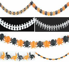 Halloween Assorted Party Ceiling Hanging Paper Decoration Supplies Home Gift DIY
