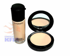 MAC Studio Fix Powder Plus Foundation + MAC Matchmaster SPF 15 Foundation