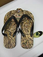 Men's Mossy Oak Camo Shadow Grass Blades Flip Flops / Choose Size SML MED LG XL