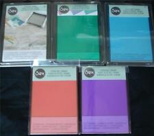 U Choose) Sizzix Cutting Pads Standard 1 Pair ~ Mint Blueberry Coral Lilac Clear
