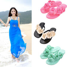 Bohemia Women Girl Sandals Fashion Flip Flops Flat Shoes Summer Beach Slippers