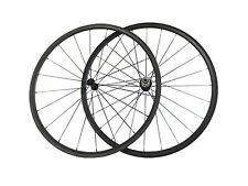 24mm Clincher Latest Ultra Light Carbon Wheels Road Bike Bicycle Wheelset