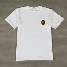 Bape/Stussy/HUF/UNDFTD/Cheapmonday Cotton Tee White T-Shirt for mens & womens