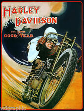 Motorcycle Racing 1920s Vintage Giclee Poster or Canvas Print 18x24