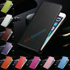 Genuine Leather Magnetic Vertical Flip Phone Case Cover For Sony Xperia T Lt30p