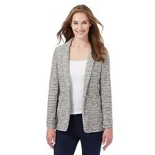 The Collection Womens Grey Textured Striped Blazer From Debenhams