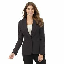 The Collection Womens Black Pinstripe Jacket From Debenhams
