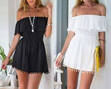 New Charming Women Casual Off Shoulder Party Cocktail Beach Short Sexy Dress
