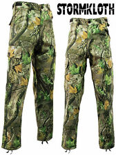 Men's Stormkloth Camouflage Camo Cargo Trousers Pants Hunting Fishing Outdoor