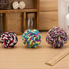 New Design Fist Ball Dog Toy Knot Rope Ball Chew Dog Puppy Toy Pet Chew Toy