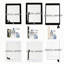 Touch Screen Digitizer Replacement For Apple iPad 2/3/4/Mini1/2 Black /White NEW