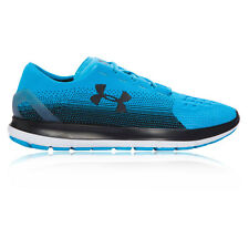 Under Armour Speedform Slingride Fade Mens Blue Cushioned Running Shoes