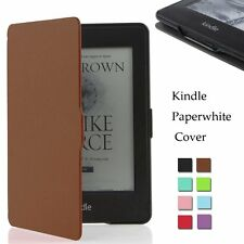 Ultra Slim Smart Magnetic Leather Stand Full Case Cover for Amazon Kindle 6