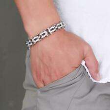Charming Jewelry Stainless Steel Bicycle Chain Hand Chain Charm Bangle Bracelet